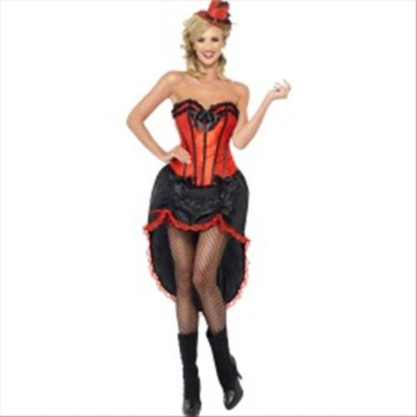 Smiffys Kleid Burlesque Dancer L