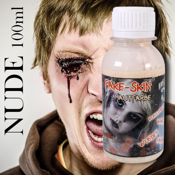 Latexmilch Sandfarbe Kunsthaut 100ml King Of Halloween Wunden Narben