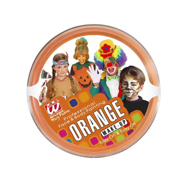 Theaterschminke orange