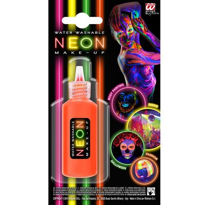 Neon-Make-Up in versch. Farben