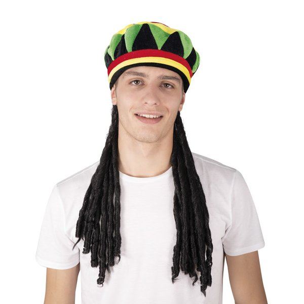 Hut mit Dreadlocks