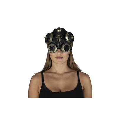 Latexmaske Steampunk